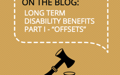 "What is an ""Offset"" in a Long Term Disability Case?"