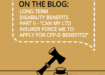 Can my Long Term Disability Insurer force me to apply for Canada Pension Plan Disability Benefits?