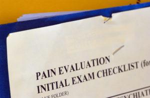 medical evaluation form after accident